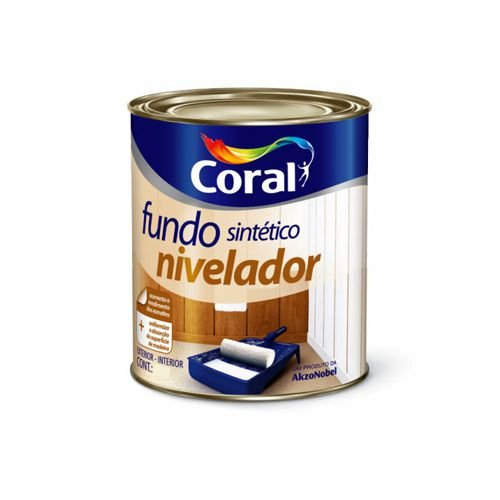 Fundo Sintético Nivelador Coral – 0,9L