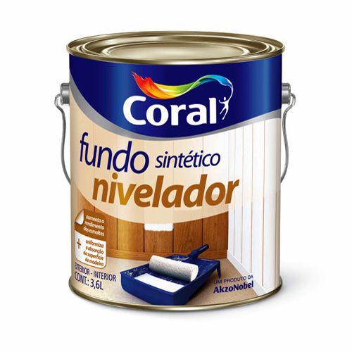 Fundo Sintetico Nivelador Coral – 3,6L