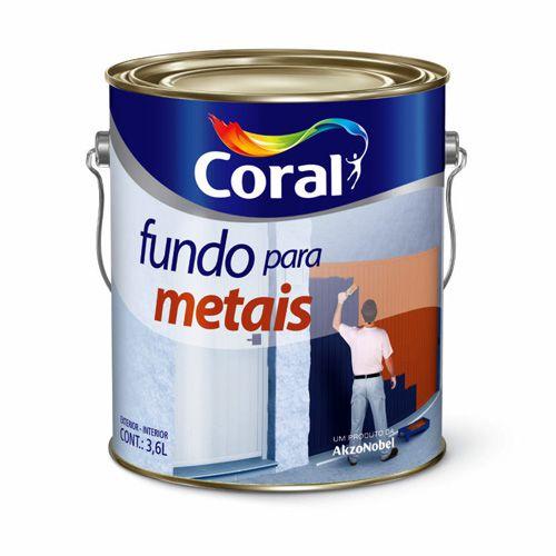 Fundo para metais (Zarcão) 3,6L