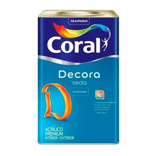 Coral Decora Seda – 18L – Branco acetinado