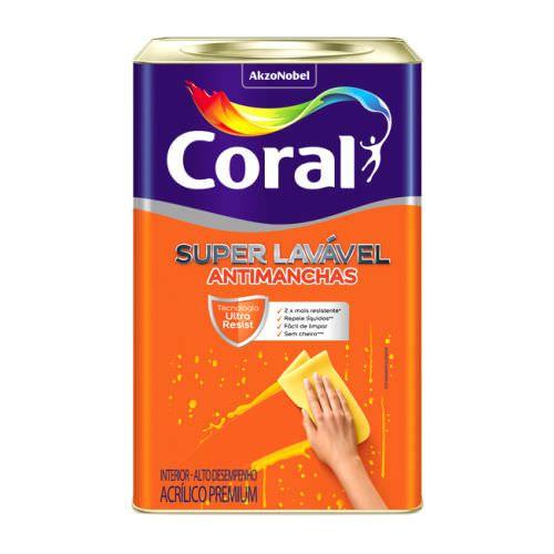 Coral Super Lavável 18L – Branco