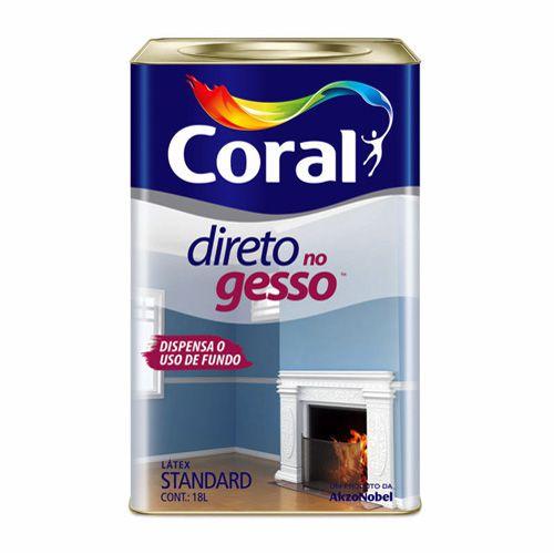 Direto no Gesso Coral 18L – Branco
