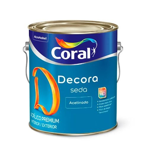 Coral Decora Seda – 3,6L – Branco acetinado