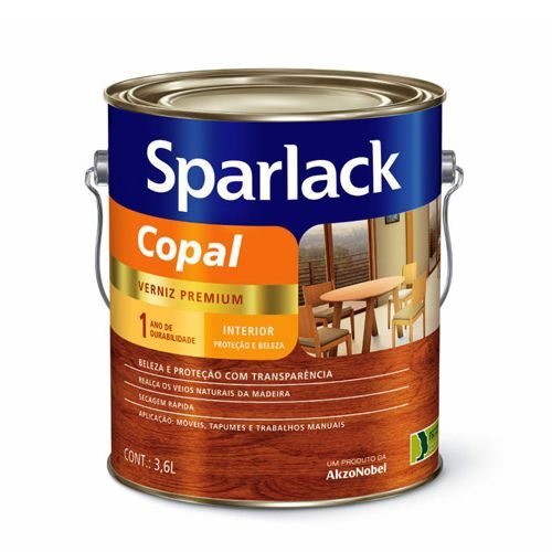 Verniz Copal Sparlack – 3,6L – Transparente