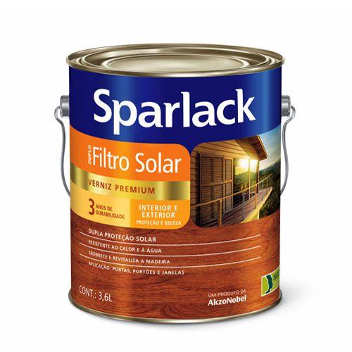 Verniz Triplo Filtro Solar  Sparlack– 3,6L – Jacarandá