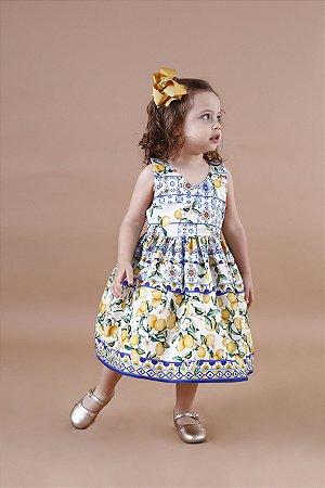 Vestido Limão Siciliano Festa