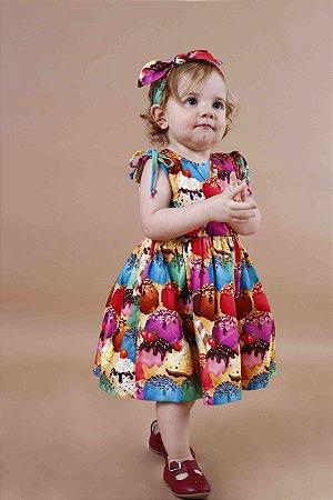 Vestido Taci Sorvete Baby