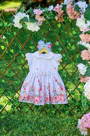 Vestido Taci Floral de Rosas Baby