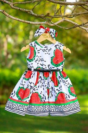 Vestido Taci Melancia Baby
