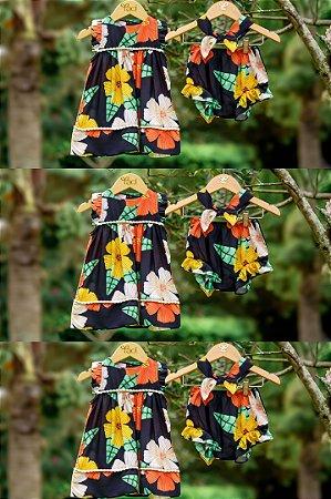 Vestido Taci Max Floral Baby