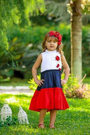 Vestido Taci Tricoline Colors