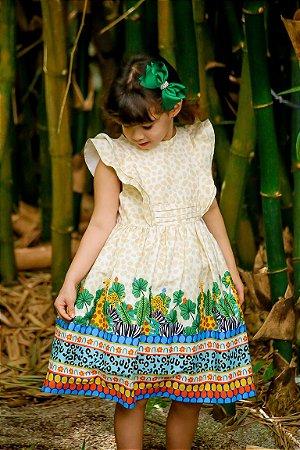 Vestido Taci Safari Festa