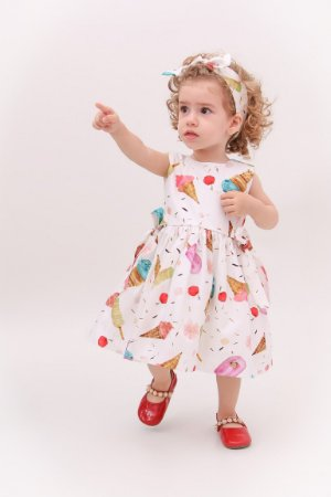 Vestido Taci Sorveteria Baby