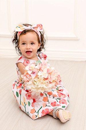 Vestido Taci Flores Baby
