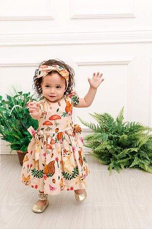 Vestido Taci Bosque Baby