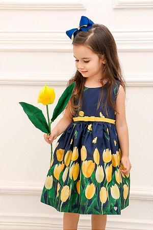 Vestido Taci Tulipa Festa