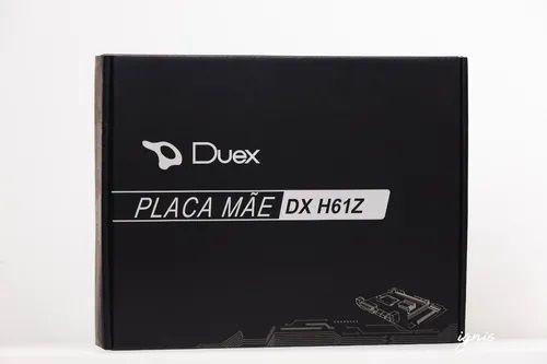 PLACA MAE DUEX INTEL DX-H61Z LGA 1155 DDR3 MICRO-ATX