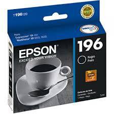 CARTUCHO EPSON 196 T196120BR PRETO