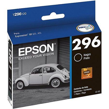 CARTUCHO EPSON 296 T296120BR PRETO