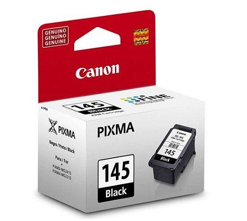 CARTUCHO CANON 145 MG2410 PRETO (8ML)