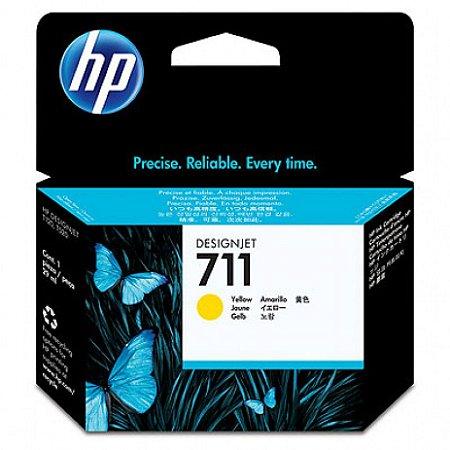 CARTUCHO HP 711 PLOTTER CZ132A AMARELO (29ML)