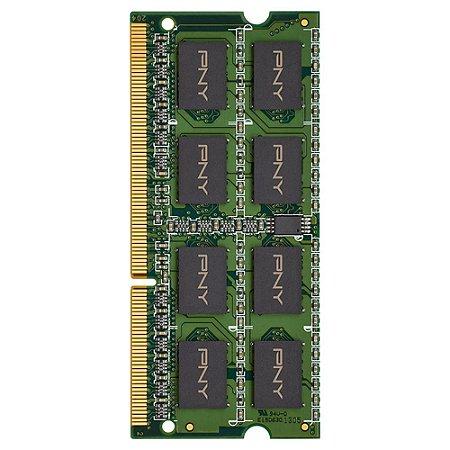 MEMORIA 8GB DDR3 1600MHZ PNY MD8GSD31600BL