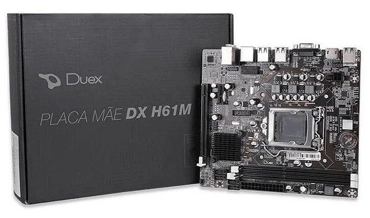 PLACA MAE DUEX INTEL DX-H61M LGA 1155 DDR3 MICRO-ATX