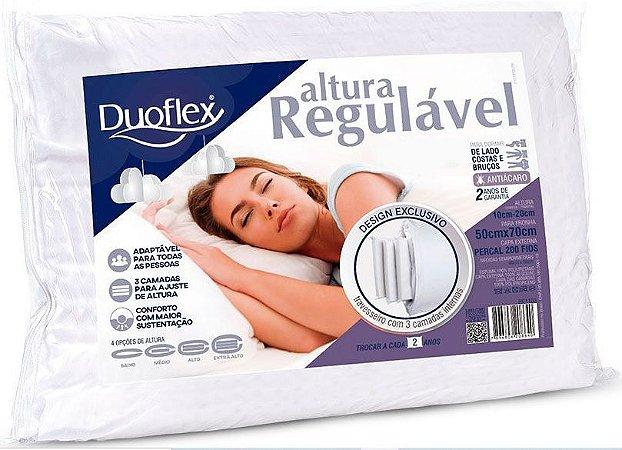Travesseiro Regulavel Espuma Re1103 - Duoflex