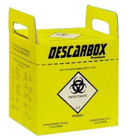 Coletor De Pérfuro-cortantes - Descarbox