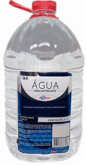 Agua Para Autoclave - 5 Litros - Ss Plus