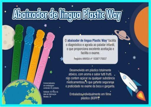 Abaixador Língua C/20 - Plastic Way