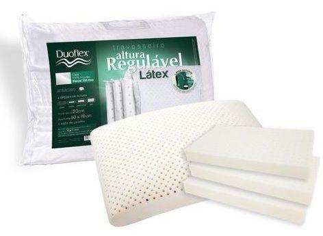 Travesseiro Regulavel Latex 000rl1100 - Duoflex