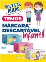 Máscara Descatével Tripla Infantil