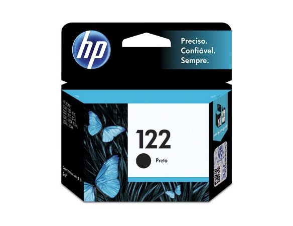 Cartucho HP 122 preto Original