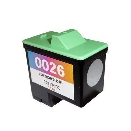 Cartucho Lexmark  26 Colorido Compatível