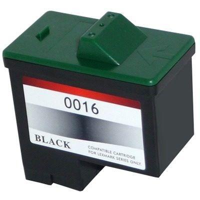 Cartucho Lexmark 16 | 10N0016 Preto Compatível 12,5ml