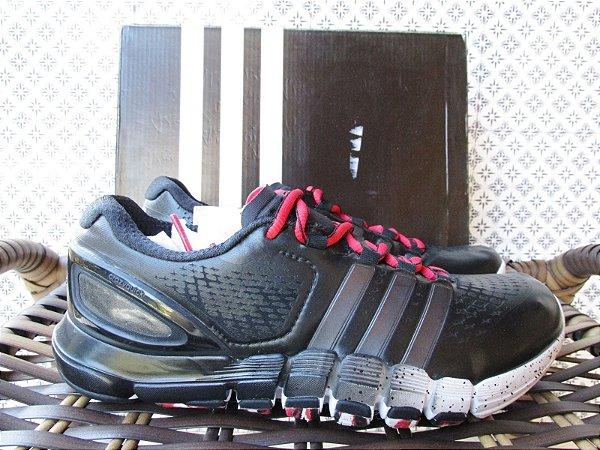 Tênis de corrida preto Adidas Crazyquick | Tamanho 38