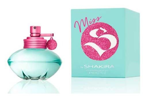 Perfume feminino miss shakira 80ml