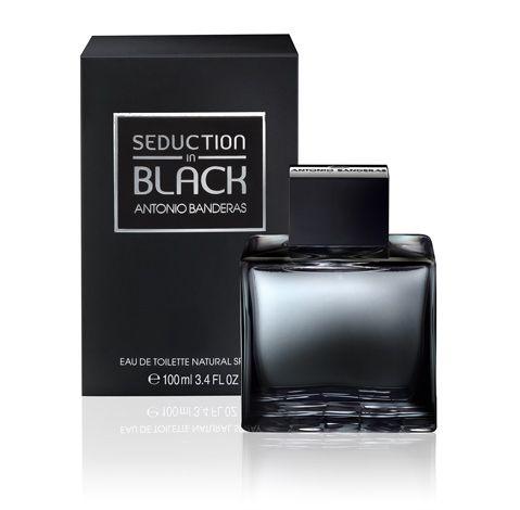 Perfume seduction in black for men Antonio Bandeiras 50ml