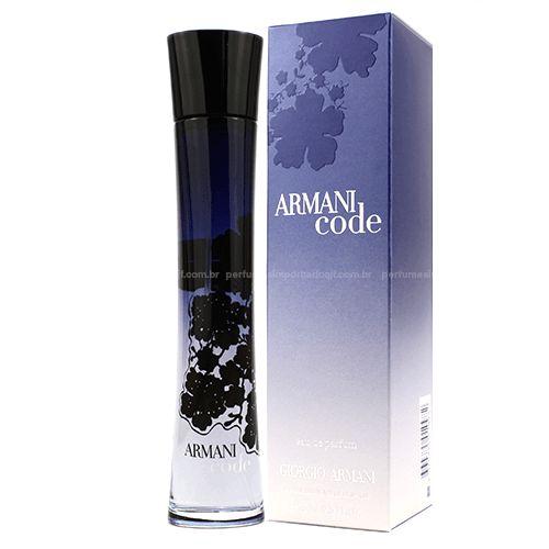 Perfume Armani Code feminino - GEORGE ARMANI 30ml