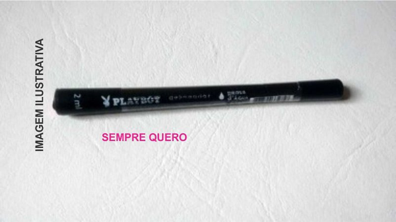 Caneta delineadora p/ olhos PROVA D´AGUA HR84594 - PLAYBOY