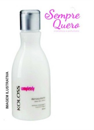 Completely demaquilante area dos olhos 80ml - koloss