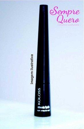 delineador líquido PRETO a prova d´agua - KOLOSS 2,5ml