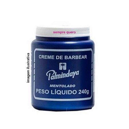 CREME DE BARBEAR MENTOLADO 240g - PALMINDAYA