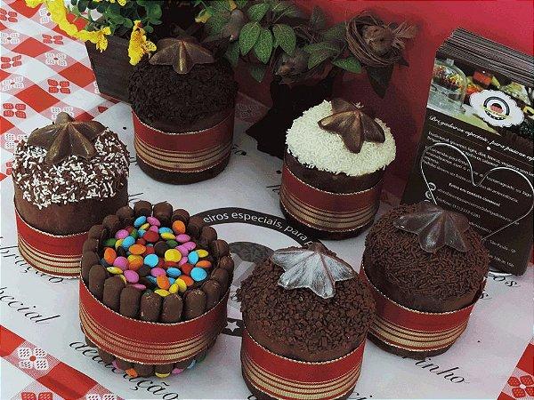 Chocotone Recheado de Brigadeiro Gourmet