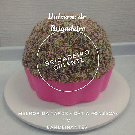 Brigadeiro Gigante TV Bandeirantes Cátia Fonseca