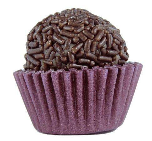 Brigadeiro de Chocolate Meio Amargo -  Zero Lactose - Receita da Vovó - Caixa Com 30 Unidades