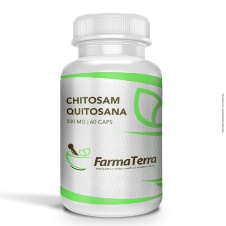 Chitosan / Quitosana 500mg - 60 Caps