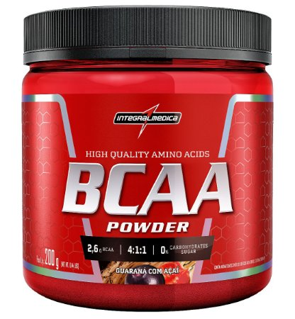BCAA Powder Integralmédica 200g - Brazil Nutrition