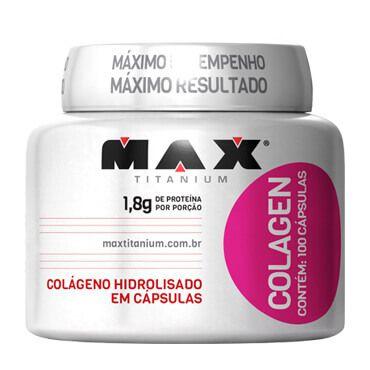 Colagen Max Titanium 100 cápsulas - Brazil Nutrition